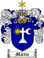 Martin Irish Coat of Arms