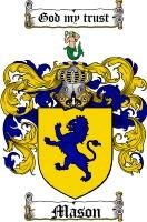 Mason Family Crest