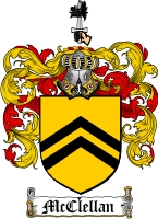 Mcclellan Family Crest