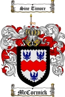 Mccormick Family Crest