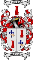 Mccracken Family Crest