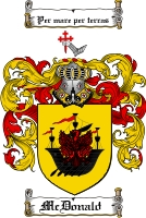 Mcdonald Coat of Arms