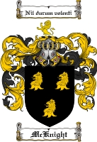 Mcknight Family Crest