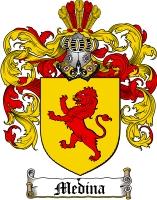 Medina Family Crest