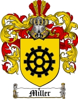 Miller German Family Crest