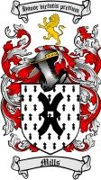 Mills Family Crest