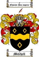 Mitchell Scottish Coat of Arms