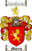 Morris Welsh Family Crest