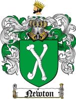Newton Family Crest