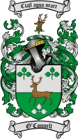 O Connell Coat of Arms