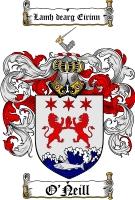 O Neill Family Crest