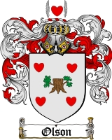 Olson Coat of Arms