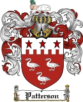Patterson Irish Coat of Arms