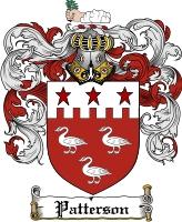 Patterson Irish Coat of Arms