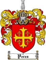 Perez Coat of Arms