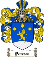 Peterson Swedish Family Crest