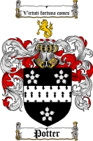 Potter Coat of Arms