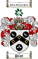 Pratt Coat of Arms