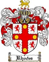 Rhodes Family Crest