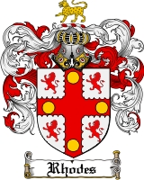 Rhodes Coat of Arms
