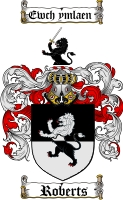Roberts Welsh Family Crest