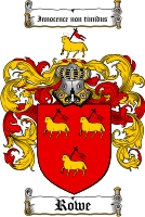 Rowe Family Crest