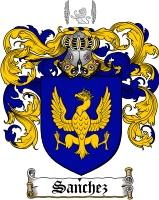 Sanchez Coat of Arms
