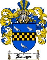 Sawyer Family Crest