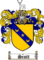 Scott Scottish Coat of Arms