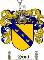 Scott Scottish Coat of Arms