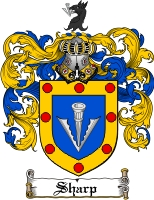 Sharp Family Crest