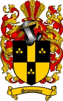 Simmons Family Crest