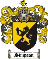Simpson Family Crest