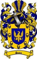 Soto Family Crest