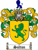 Sutton Family Crest