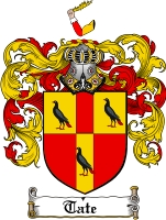 Tate Coat of Arms
