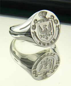 Wax Seal Crest Rings