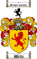 Wells Family Crest