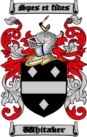 Whitaker Coat of Arms