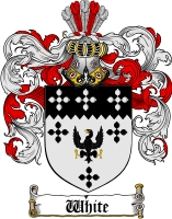 White Scottish Family Crest