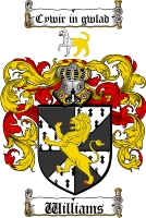 Williams Welsh Coat of Arms