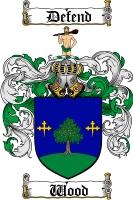 Wood Scottish Coat of Arms